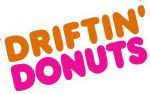 Retro DRIFTING DONUTS Funny Parody JDM Drift Look Vinyl Car Sticker Bomb Decal 150x65mm